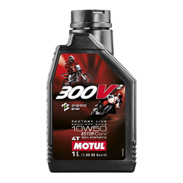 MOTUL 300V² FACTORY LINE ROAD / OFF ROAD 10W50