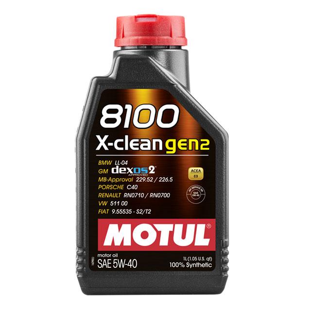 MOTUL 8100 X-CLEAN GEN2 5W40